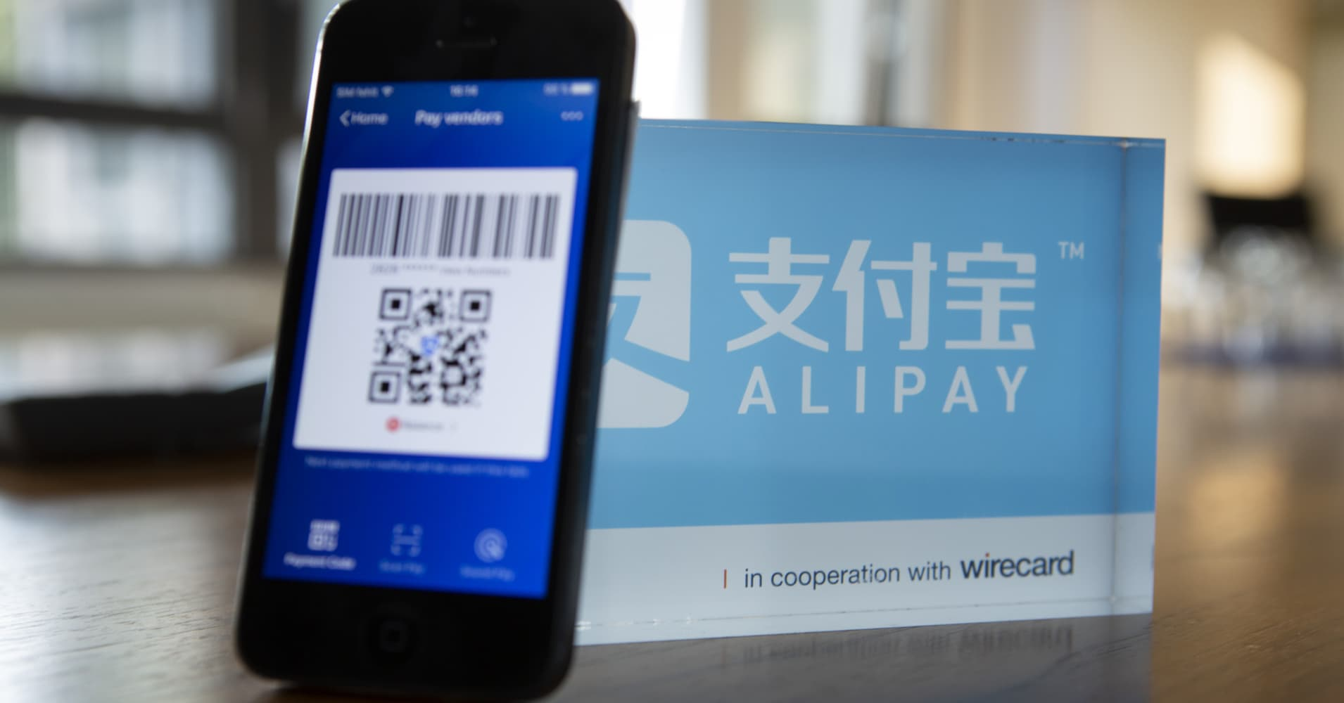Alipay's parent company says tech services — not payments — will be its main business in the future