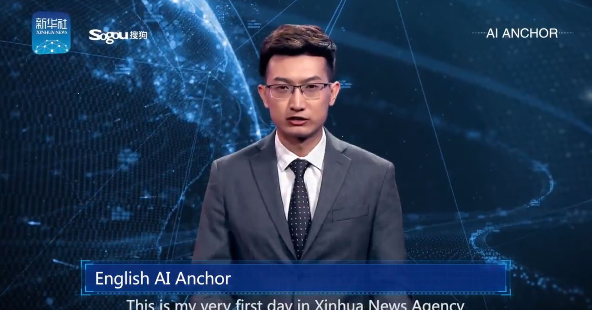 The 'world's first' AI news anchor has gone live in China