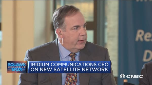 Iridium Communications CEO: We're the only communication provider with 100% coverage of the planet