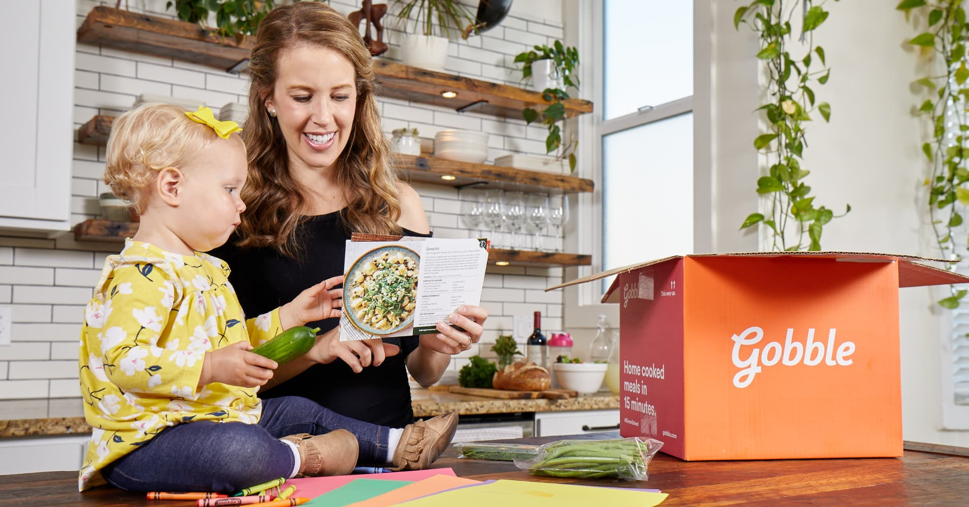 Gobble, the meal kit service with an 'army of chefs' ready to feed your family for $24 per box