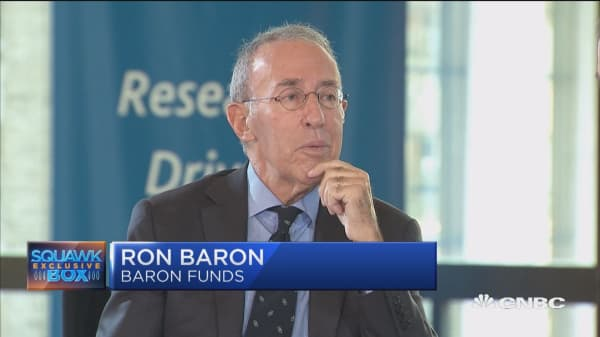 Ron Baron: The stock market and GDP will double in 10-12 years