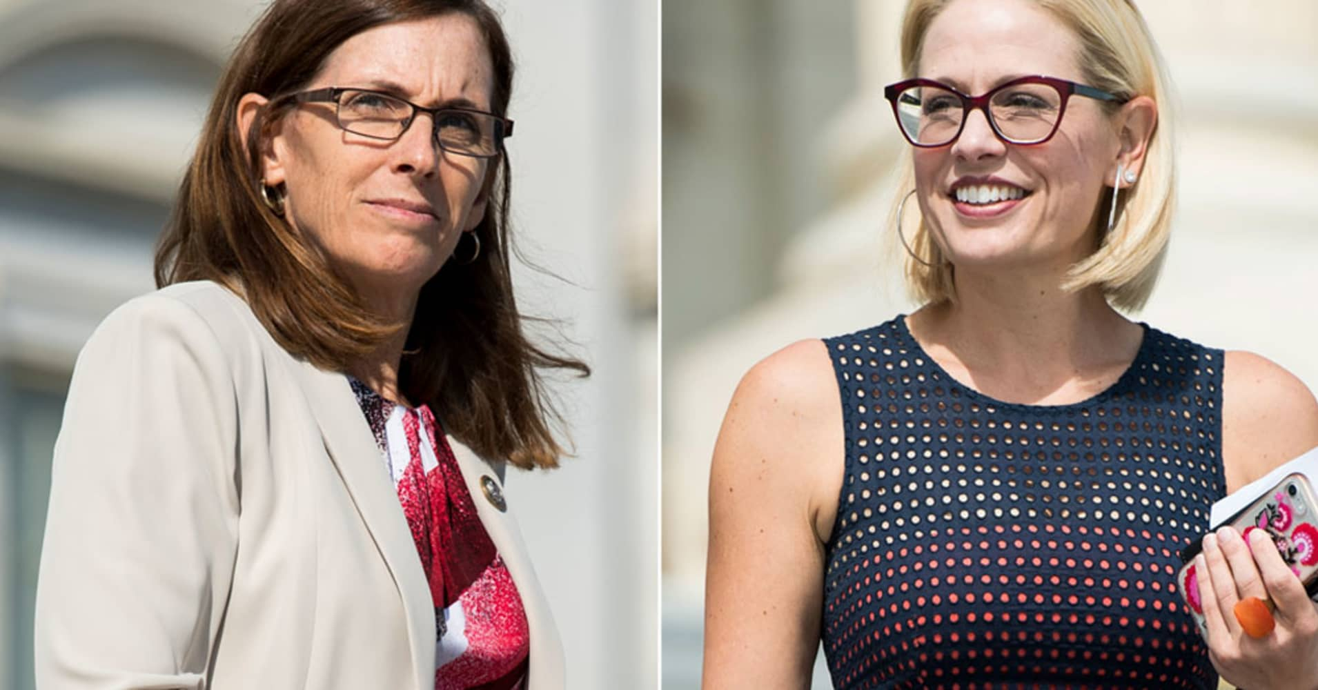 Democrat Sinema leads in Arizona Senate race that is still too close to call amid legal battle