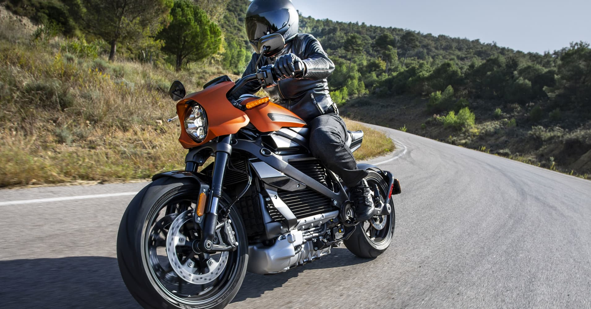 Harley-Davidson's Electric Motorcycle Is A Big Change For