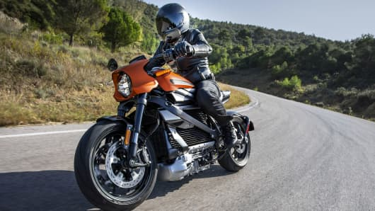 Harley Davidson S Electric Motorcycle Is A Big Change For The Company