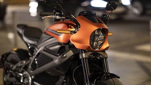 Motocicleta eléctrica Harley-Davidson LiveWire