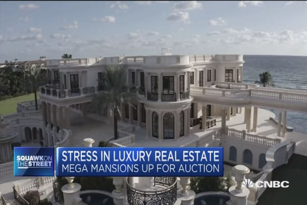 cnbc.com - Stress in luxury real estate