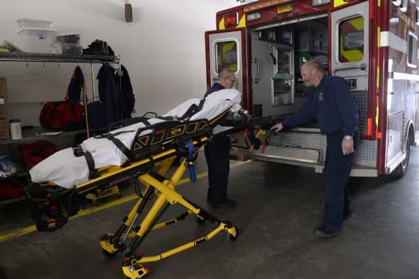Evergreen Fire Rescue will train in paramedicine.