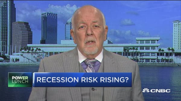 Strategist: Sixty percent chance we'll enter a recession next year
