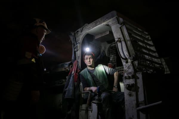 Diamond mining in Yakutia, Russia