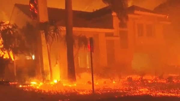 California wildfires force 157,000 to evacuate