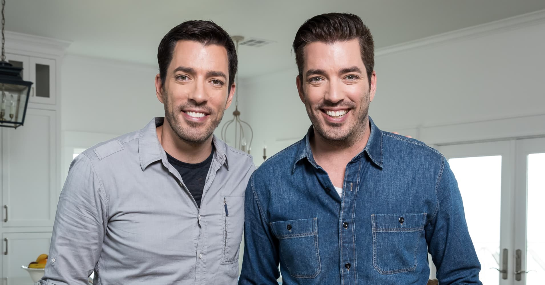 "Drew and Jonathan Scott of HGTV's ""Property Brothers"""