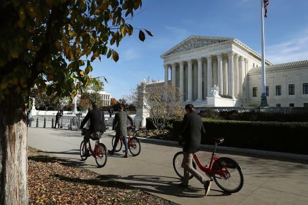 Investiture Ceremony Held At U.S. Supreme Court For Justice Brett Kavanaugh
