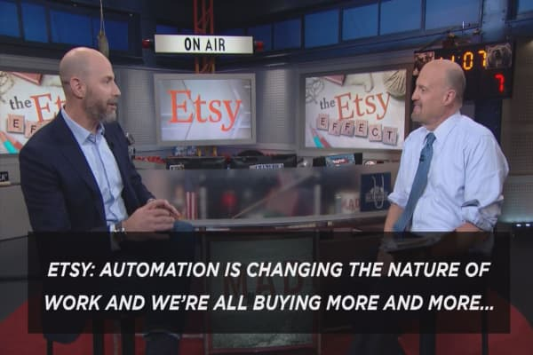 Cramer's Exec Cut: The battle between humans and automation looks different at each company