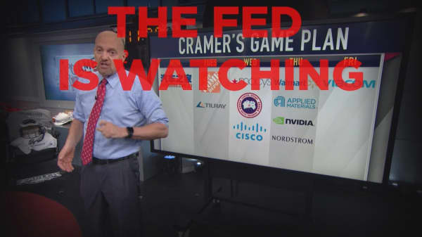 Cramer Remix: Next week's earnings could make or break how the Fed approaches rate hikes