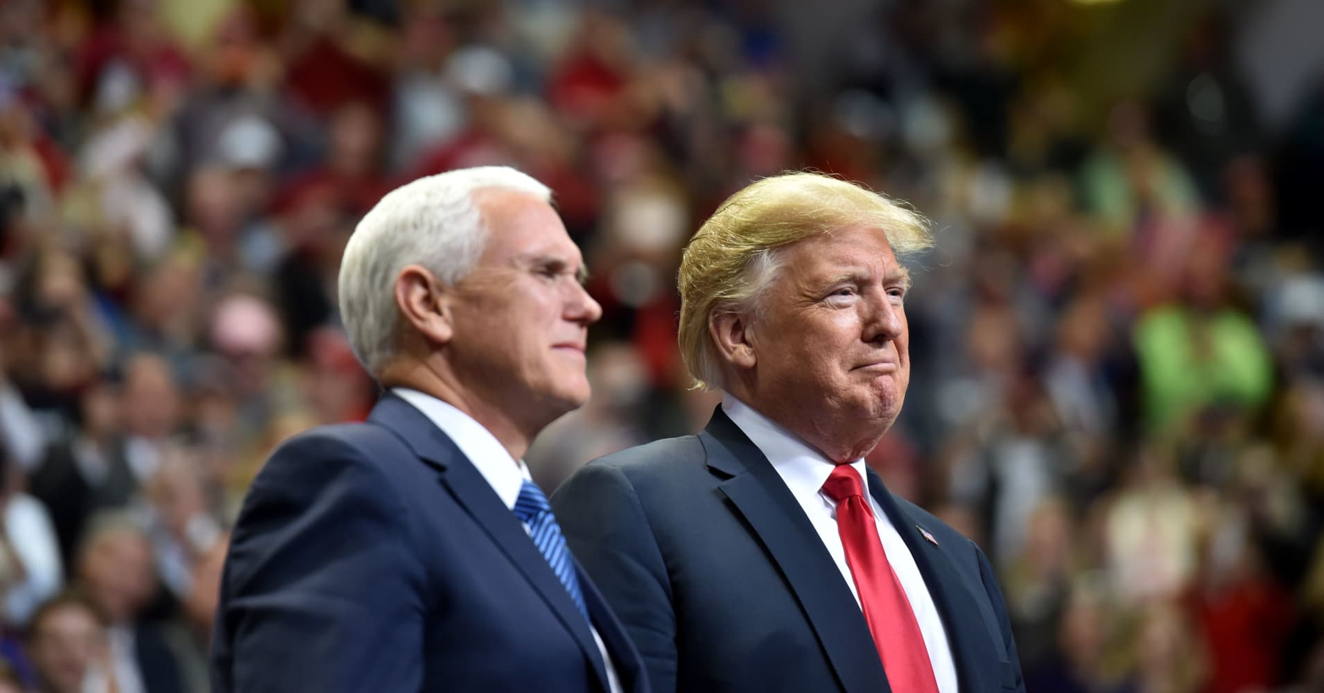 President Trump is telling allies he wants Vice President Mike Pence to stay on the ticket in 2020