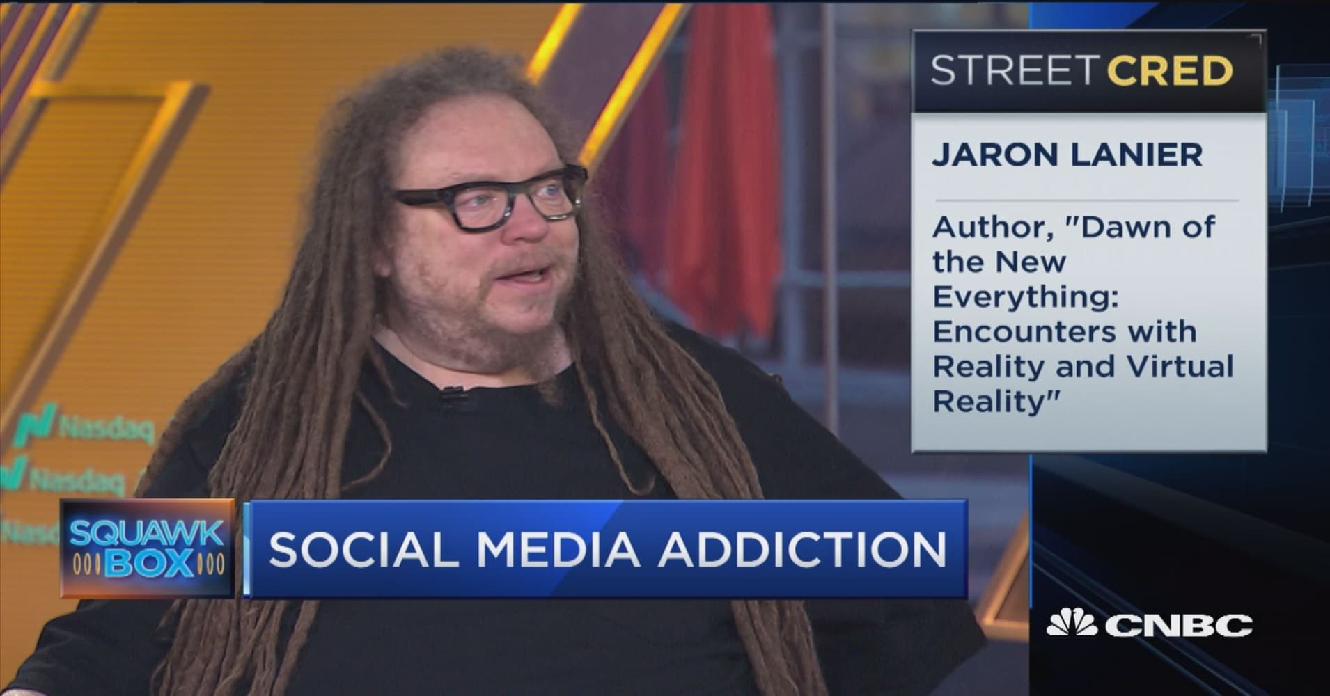 Jaron Lanier says future is people buying services and selling their own data