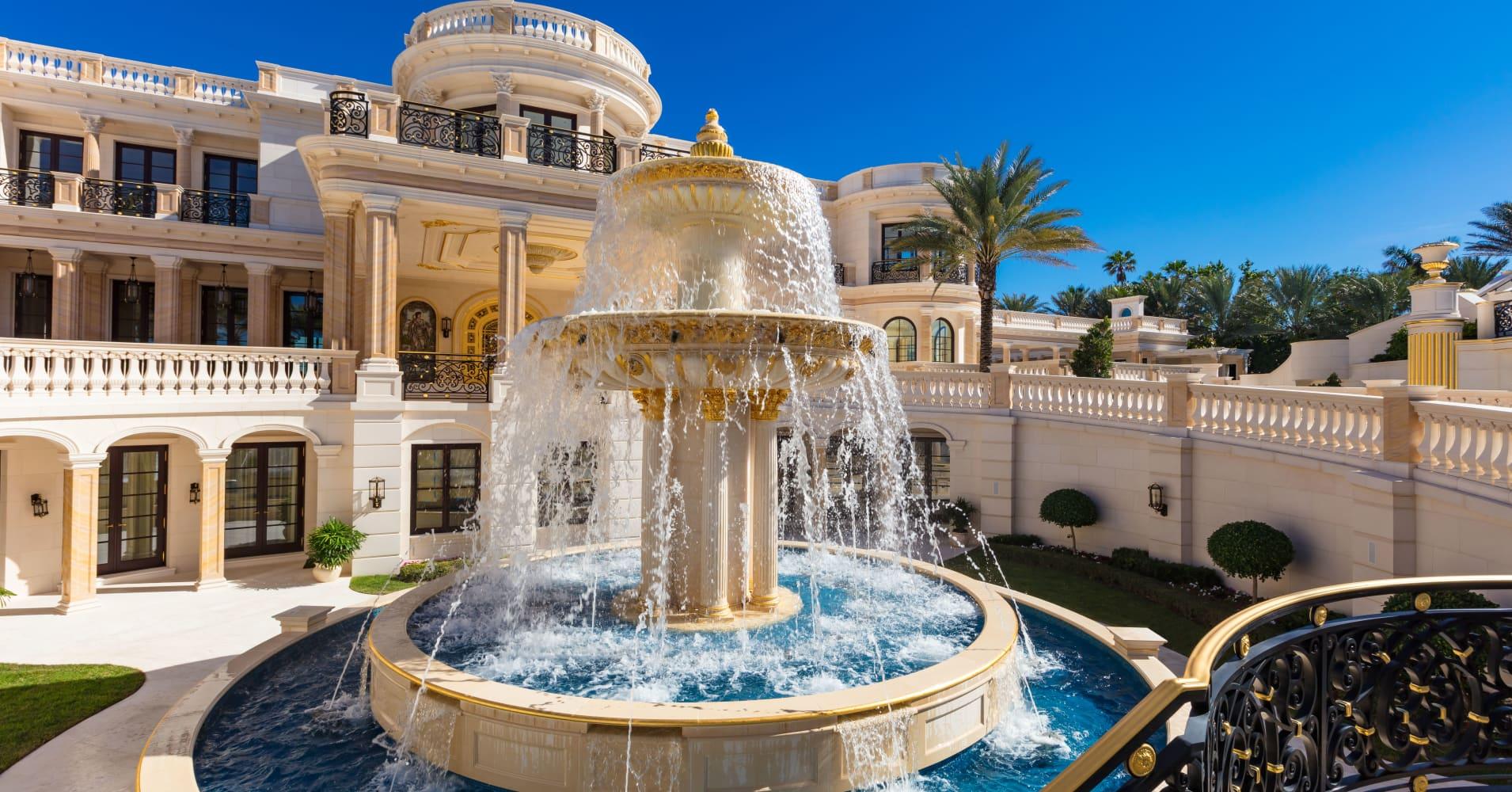 Photos: Inside Florida mega-mansion inspired by Versailles