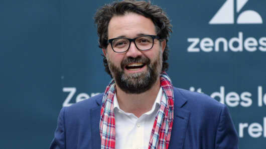 Zendesk co-founder and CEO Mikkel Svane