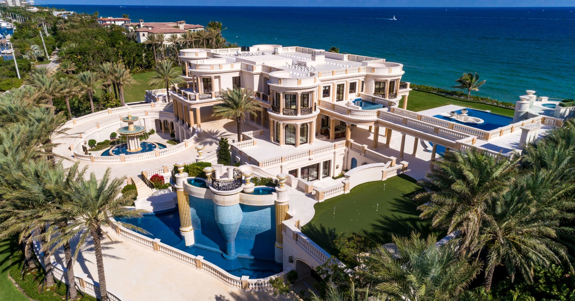 Bidding is on for the most expensive home ever to hit the auction block