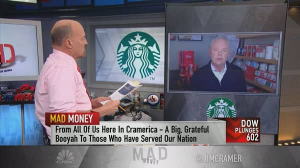 Starbucks CEO: 'We're not immune' to the trade war, but we're 'playing the long game' in China