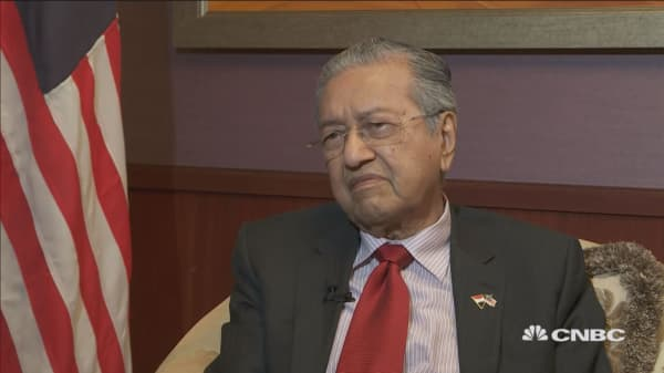 'With Trump, you can't predict anything': Malaysian prime minister