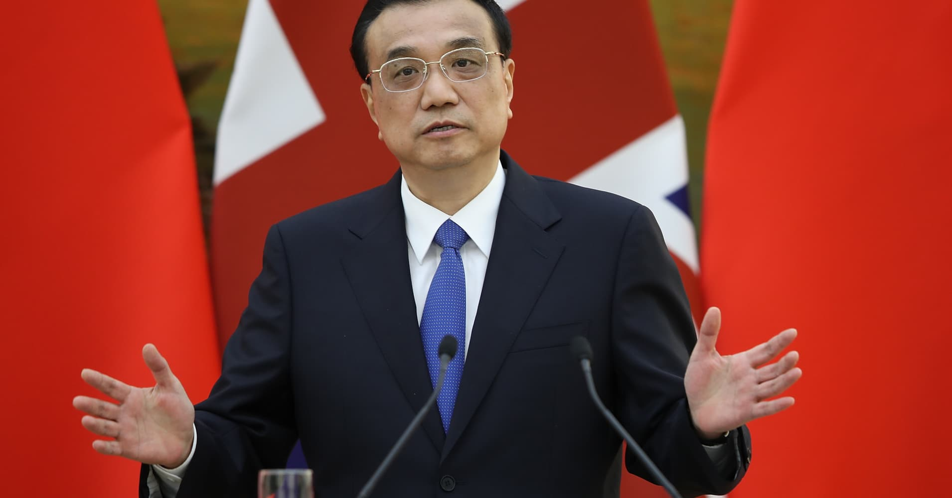 Chinese premier: 'We must be fully prepared for a tough struggle'