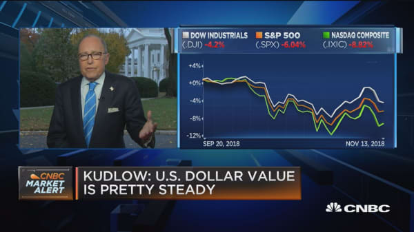 Kudlow says White House looking at infrastructure plan, including energy pipelines