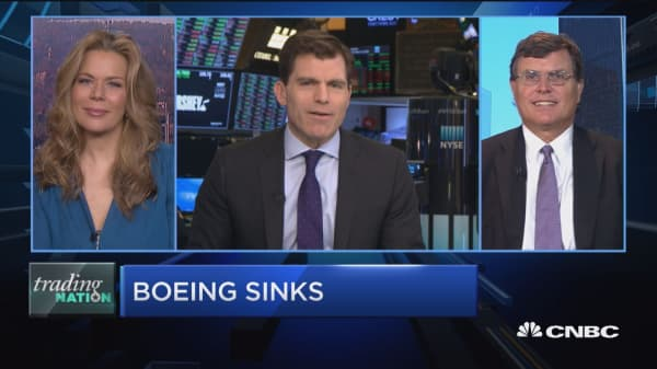 Trading Nation: Is Boeing heading back to October lows?