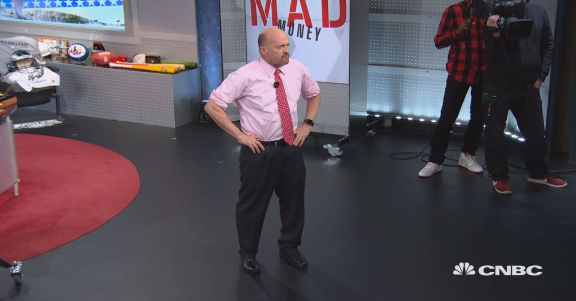 Behind the scenes at Mad Money's Veterans Day show: Q&A with Jim Cramer