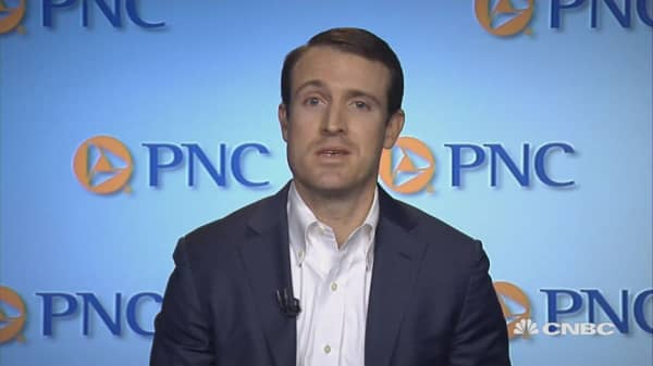 Stocks will go higher, but it will be a bumpy road: PNC's Jeff Mills