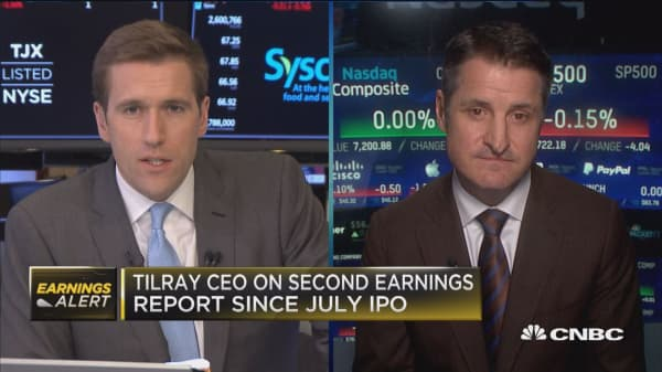 Tilray CEO: Our biggest challenge is that there's so much demand for product