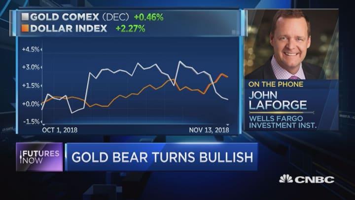 Wells Fargo turns bullish on gold, sees near-term gains
