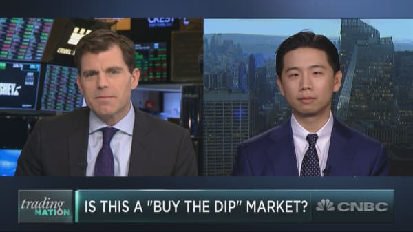 Here's why 'buy the dip' probably isn't the winning strategy it's been for years