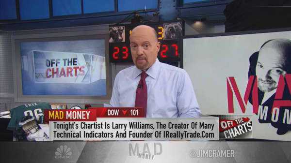 Cramer shares 'chart master' Larry Williams' top trades for the end of the year