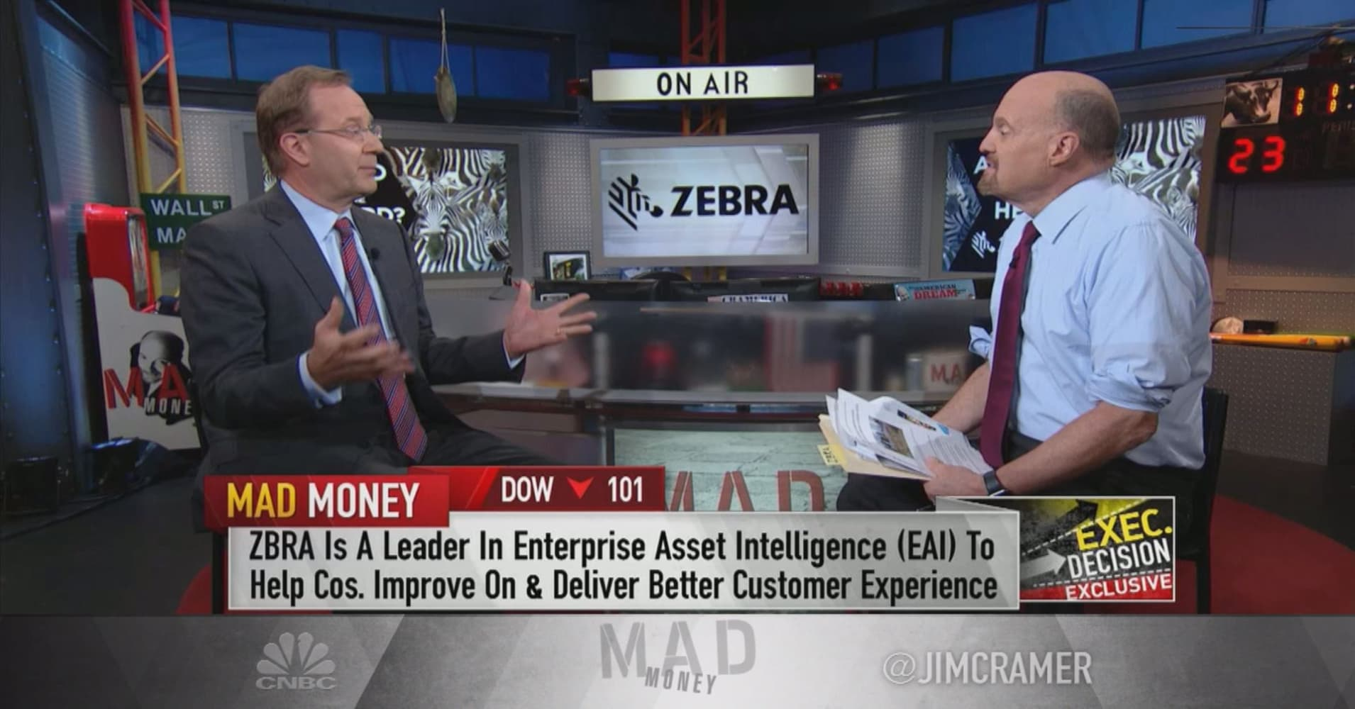 Enterprise tech maker Zebra Technologies working to 'mitigate' US-China  trade impact: CEO