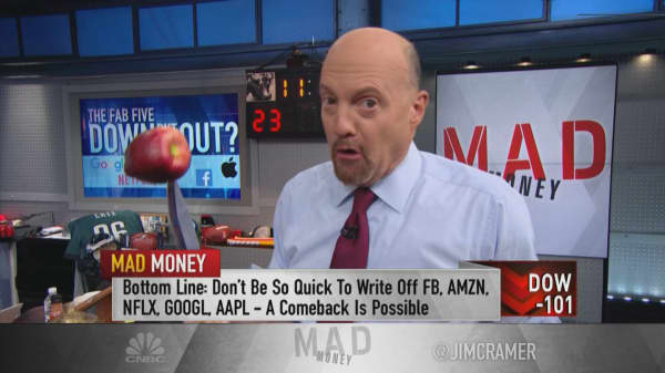 Analysts missing mark on shares of Apple and FANG: Cramer