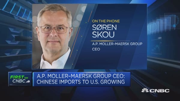 Maersk CEO: Solid growth in all of our segments