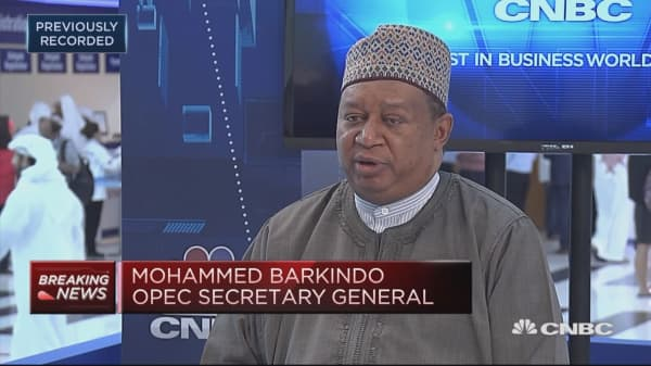 OPEC Sec-Gen: We remain very focused on our principal objective