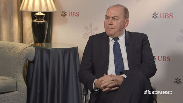 Monetary policy normalisation will be an issue in next cycle, says UBS chairman