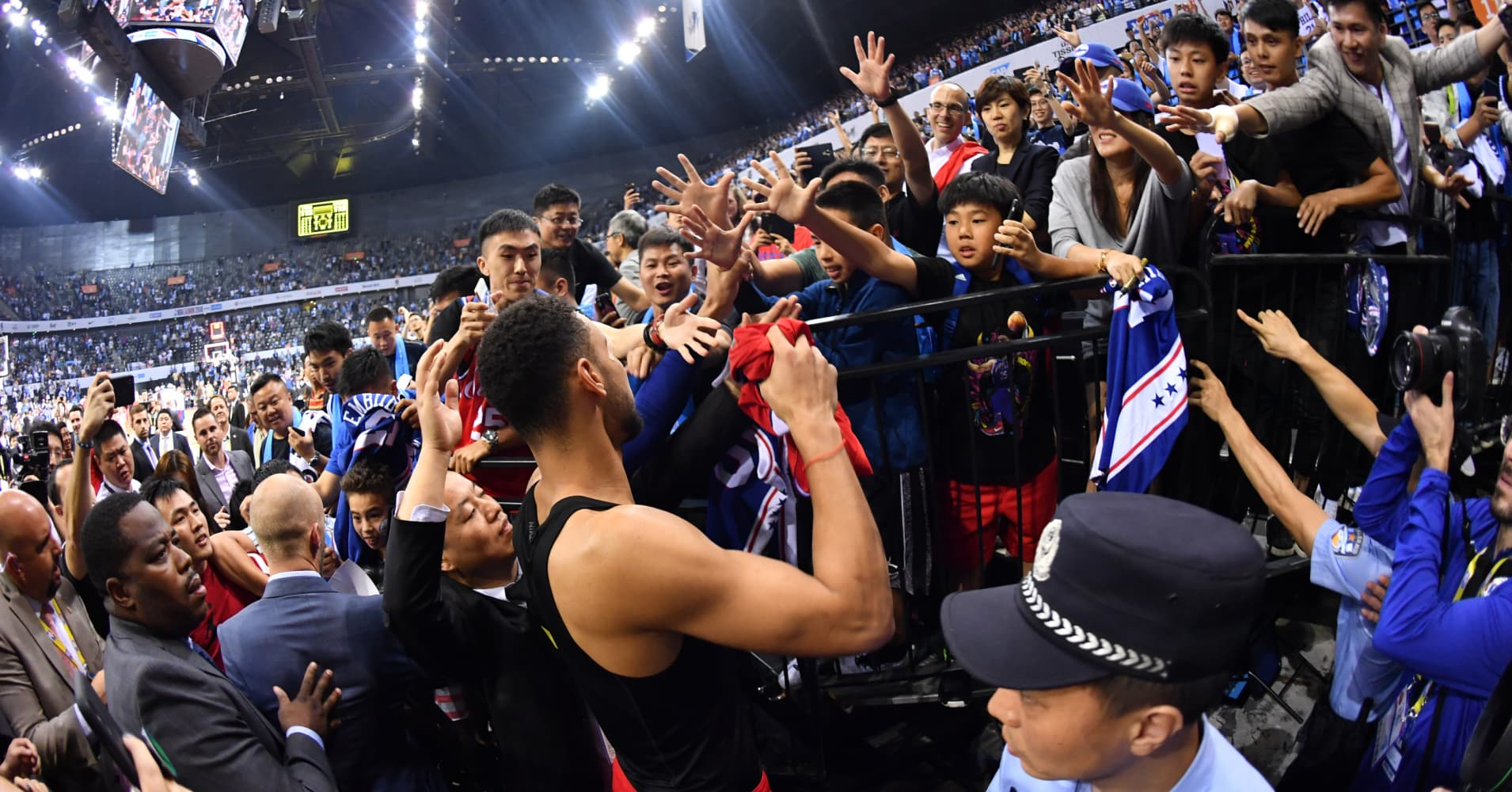 The NBA is China's most popular sports league. Here's how it happened