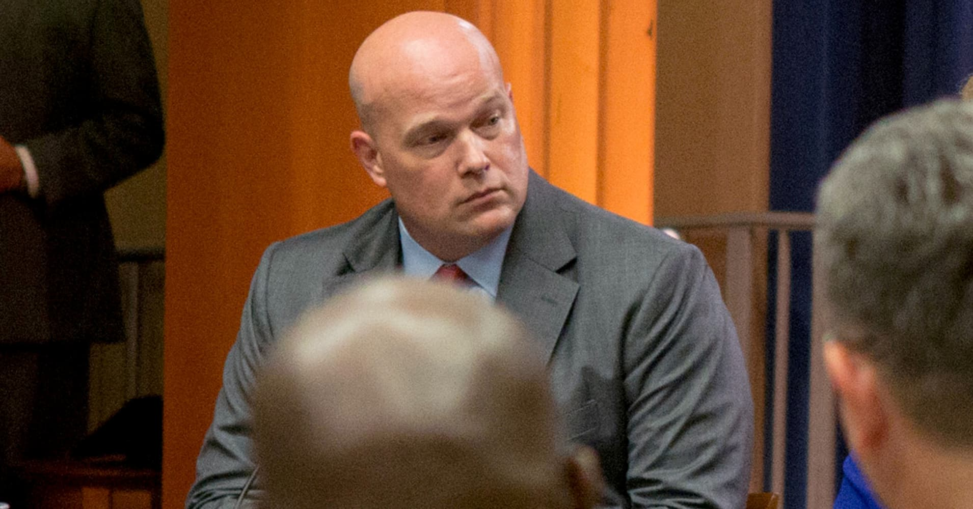 DOJ cleared Matthew Whitaker to be acting attorney general