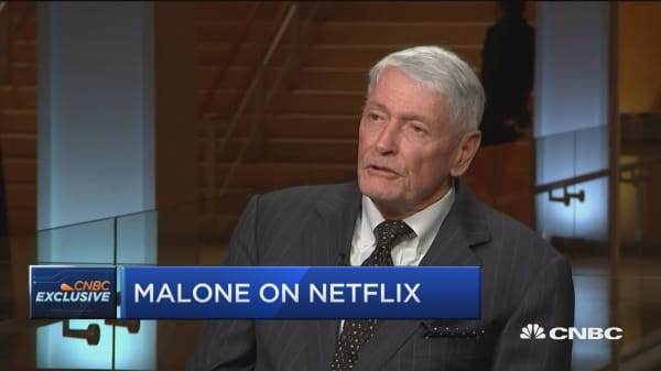 Liberty Media' John Malone on Netflix's 'massive lead' in streaming landscape