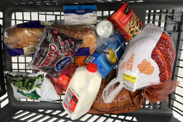 Here's all the Thanksgiving ingredients you can get for $50 at Acme.