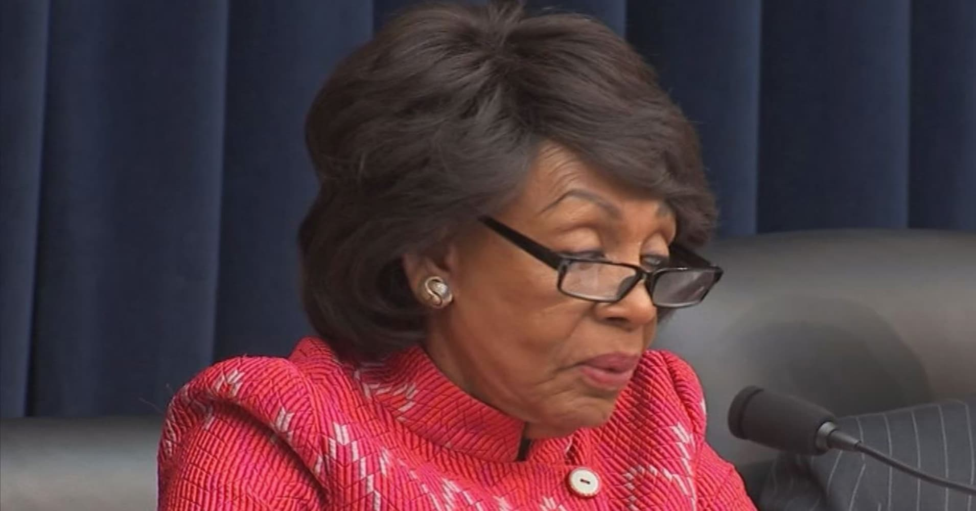 Maxine Waters says easing banking regulations 'will come to an end' when she takes committee chair