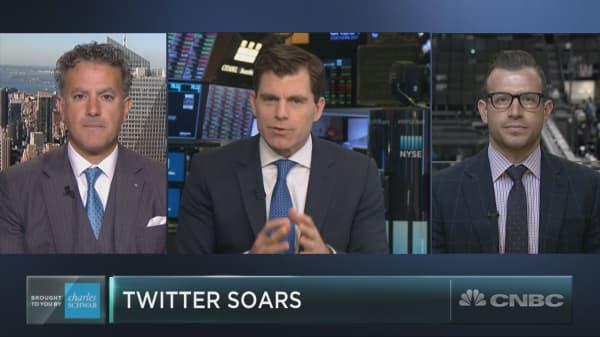 As social stocks slump, one unlikely winner has emerged