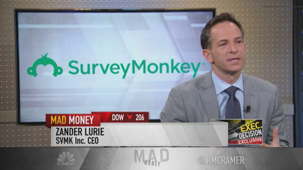 CEO of SurveyMonkey parent: SAP-Qualtrics deal 'validated just how big this category is'