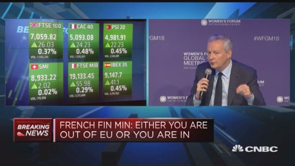 Brexit is a historic mistake, says French finance minister