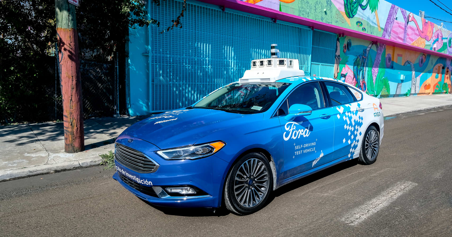 Here's how Ford's autonomous vehicles will shake up ride hailing and delivery services