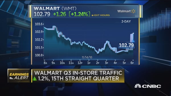 Walmart posts mixed quarterly results, but raises full-year guidance