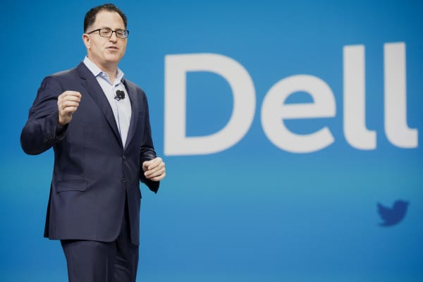 Michael Dell, founder and chief executive officer of Dell Inc.